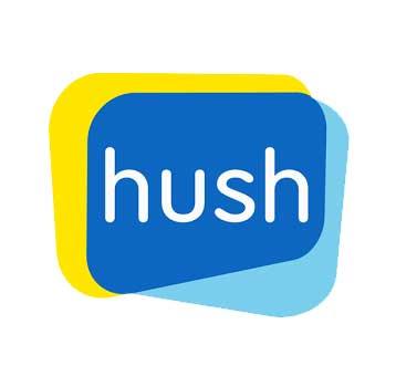 Logo hush